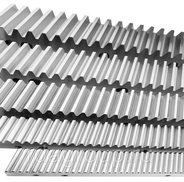 Зубчатые рейки и шестерни